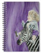Mika And Zebra Spiral Notebook