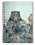 Mika Animals Spiral Notebook