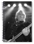 Mike Peters The Alarm By Diana Sainz Spiral Notebook