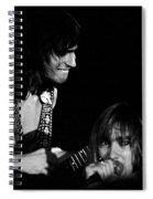 Mike Somerville And John Schlitt Of Head East Spiral Notebook