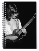 Mike Somerville Of Head East 12 Spiral Notebook