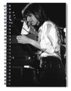 Mike Somerville Of Head East 17 Spiral Notebook