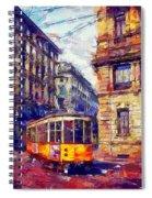 Milan Tram Spiral Notebook