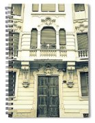 Milan Vintage Building Spiral Notebook