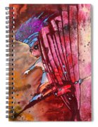 Mildew The Bookworm Spiral Notebook
