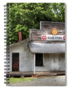 Miles Country Store Spiral Notebook