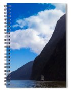 Milford Sound #3 Spiral Notebook