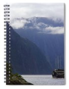 Milford Sound Spiral Notebook