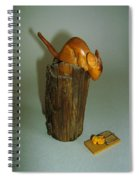 Mouse Trap Spiral Notebook