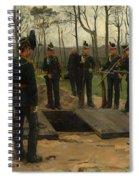 Military Funeral Spiral Notebook