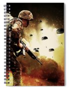 Military Our Heroes Spiral Notebook