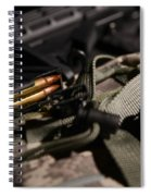 Military Pile Spiral Notebook
