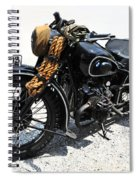 Military Style Bmw Motorcycle Spiral Notebook