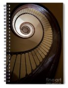 Milk And Chocolate Staircase Spiral Notebook