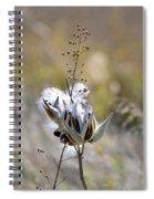 Milk Weed Seed Spiral Notebook