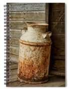 Milkcan Spiral Notebook