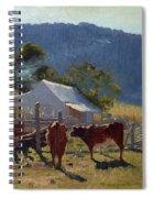 Milking Time. Araluen Valley Spiral Notebook