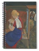 Milkmaid Spiral Notebook
