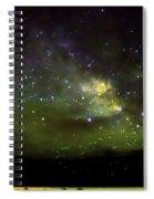 Milkyway  Crossing Blur Spiral Notebook