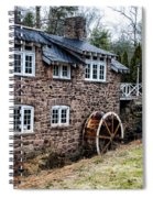 Mill Along The Delaware River In West Trenton Spiral Notebook