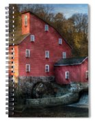 Mill - Clinton Nj - The Old Mill Spiral Notebook