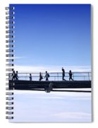 Millenium Bridge London Spiral Notebook