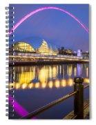 Millennium Bridge - Gateshead Spiral Notebook