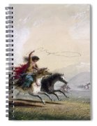 Miller - Shoshone Woman Spiral Notebook