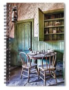 Miller House Kitchen Spiral Notebook