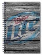 Miller Lite Spiral Notebook