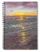 Miller Ocean Sunset Spiral Notebook
