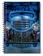 Millers Chop Shop 1946 Chevy Truck Spiral Notebook