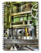 Milling Spiral Notebook