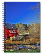Historic Millmore Mill Shoulder Bone Creek Spiral Notebook