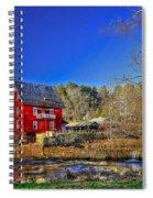 Historic Millmore Mill Shoulder Bone Creek Spiral Notebook