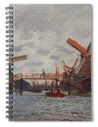Mills At Westzijderveld Spiral Notebook
