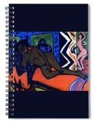 Milly Asleep Spiral Notebook