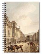 Milsom Street, From Bath Illustrated Spiral Notebook