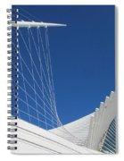 Milwaukee Art Museum Closeup 1 Spiral Notebook