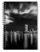 Milwaukee At Night Spiral Notebook