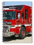 Milwaukee Fire Dept. Rescue 1  Spiral Notebook