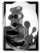 Milwaukee In Abstract Spiral Notebook