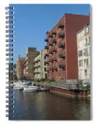 Milwaukee River Architechture 1 Spiral Notebook
