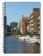 Milwaukee River Architecture 2 Spiral Notebook