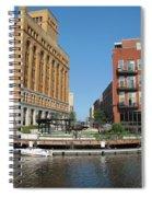 Milwaukee River Architecture 5 Spiral Notebook