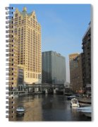 Milwaukee River Theater District 2 Spiral Notebook