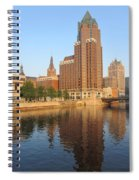 Milwaukee River Theater District 4 Spiral Notebook