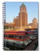 Milwaukee River Theater District 5 Spiral Notebook
