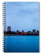 Milwaukee Skyline - Version 1 Spiral Notebook