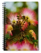 Mimosa Blooms Spiral Notebook
